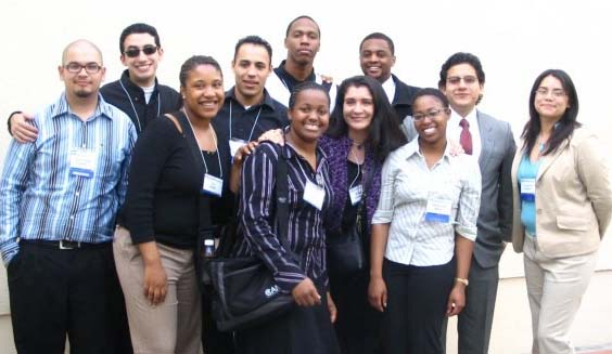 Many NERDS go into STEM graduate programs: 2006 flashback photo  - fast forward to today nine out of ten CAMP Alumni in this photo went to STEM graduate programs (six have earned their STEM PhDs)