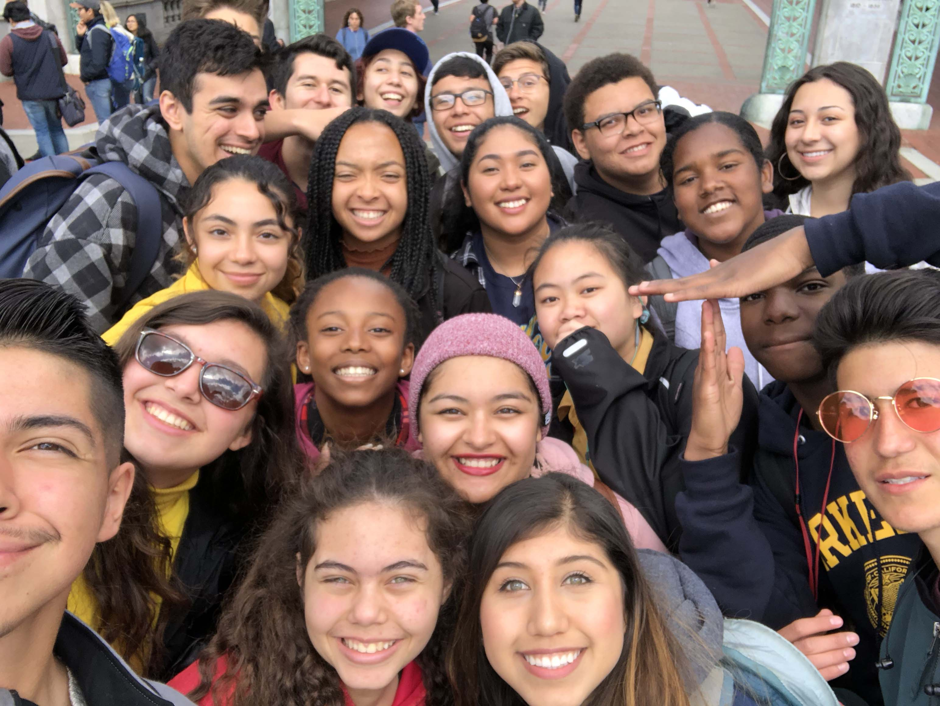 March 2018 NERD Patrol with Visiting Students