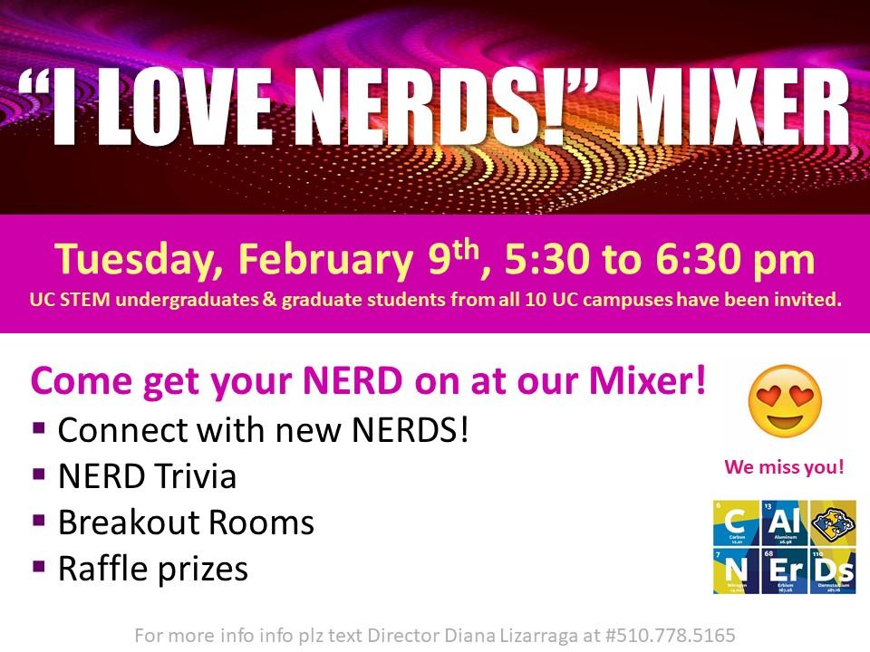 Feb Cal NERDS Mixer