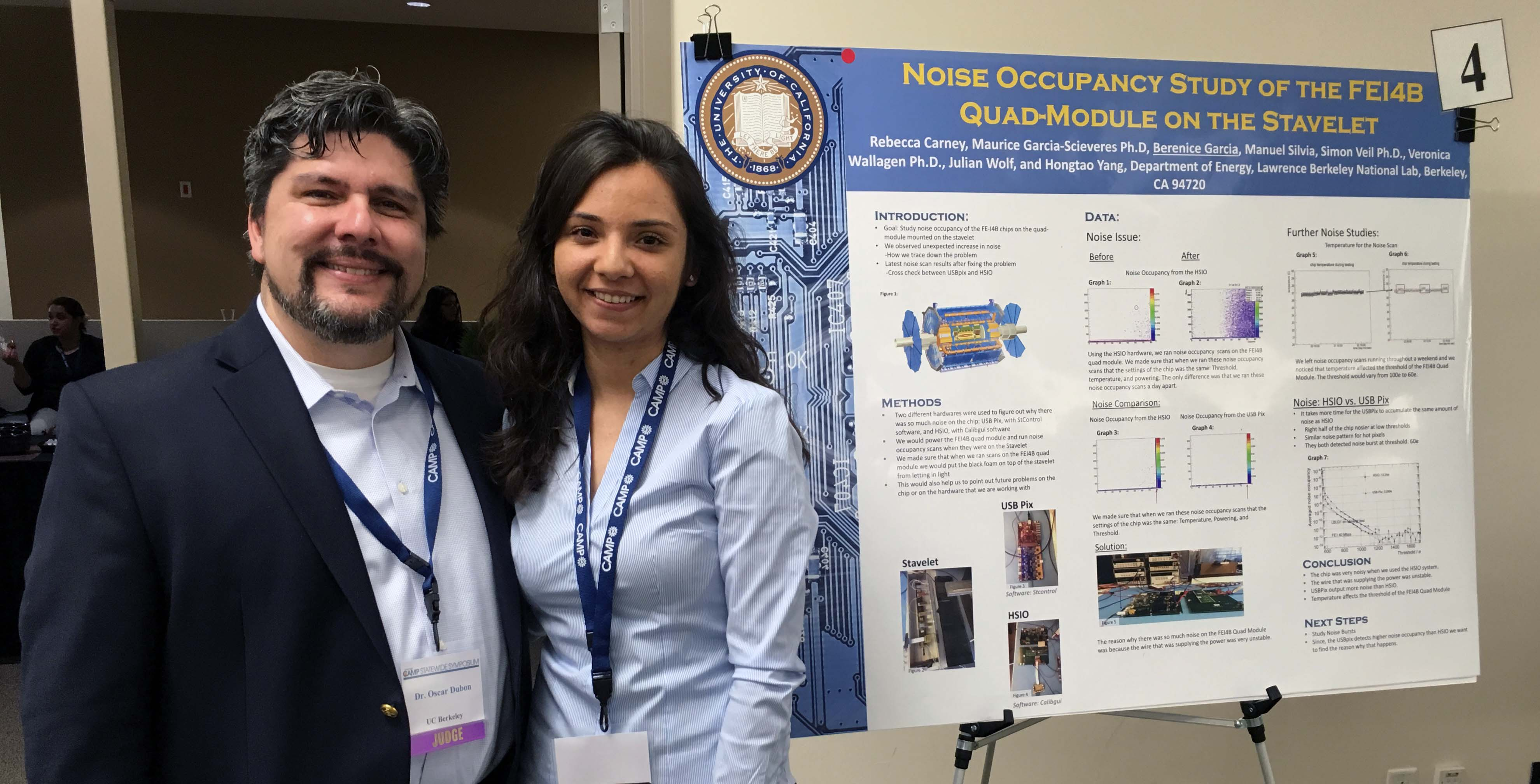 NSF CAMP statewide research conference, hosted by UC Irvine, is this program's signature event