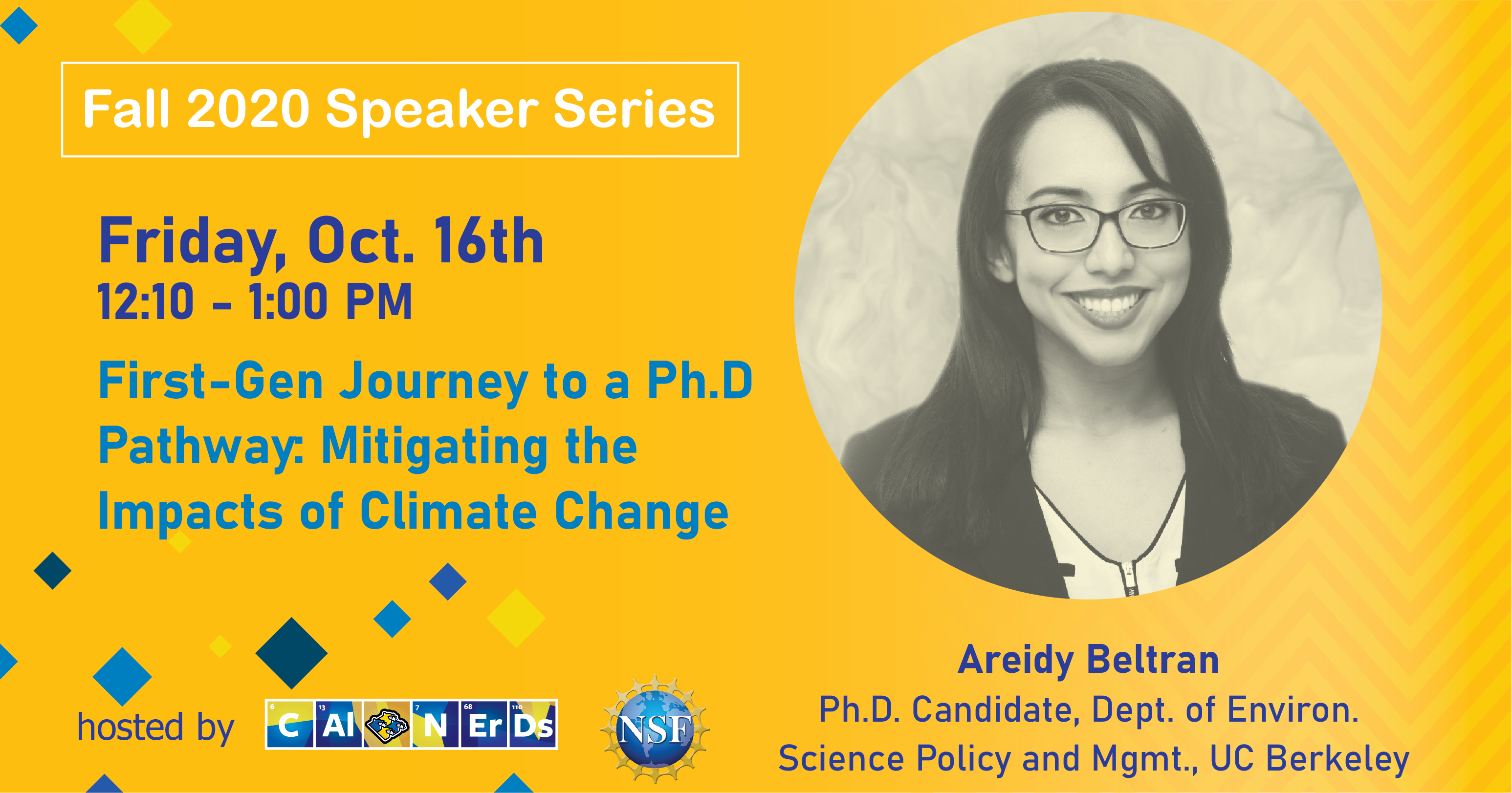 Cal NERDS Alum Areidy Returns to Give a Talk