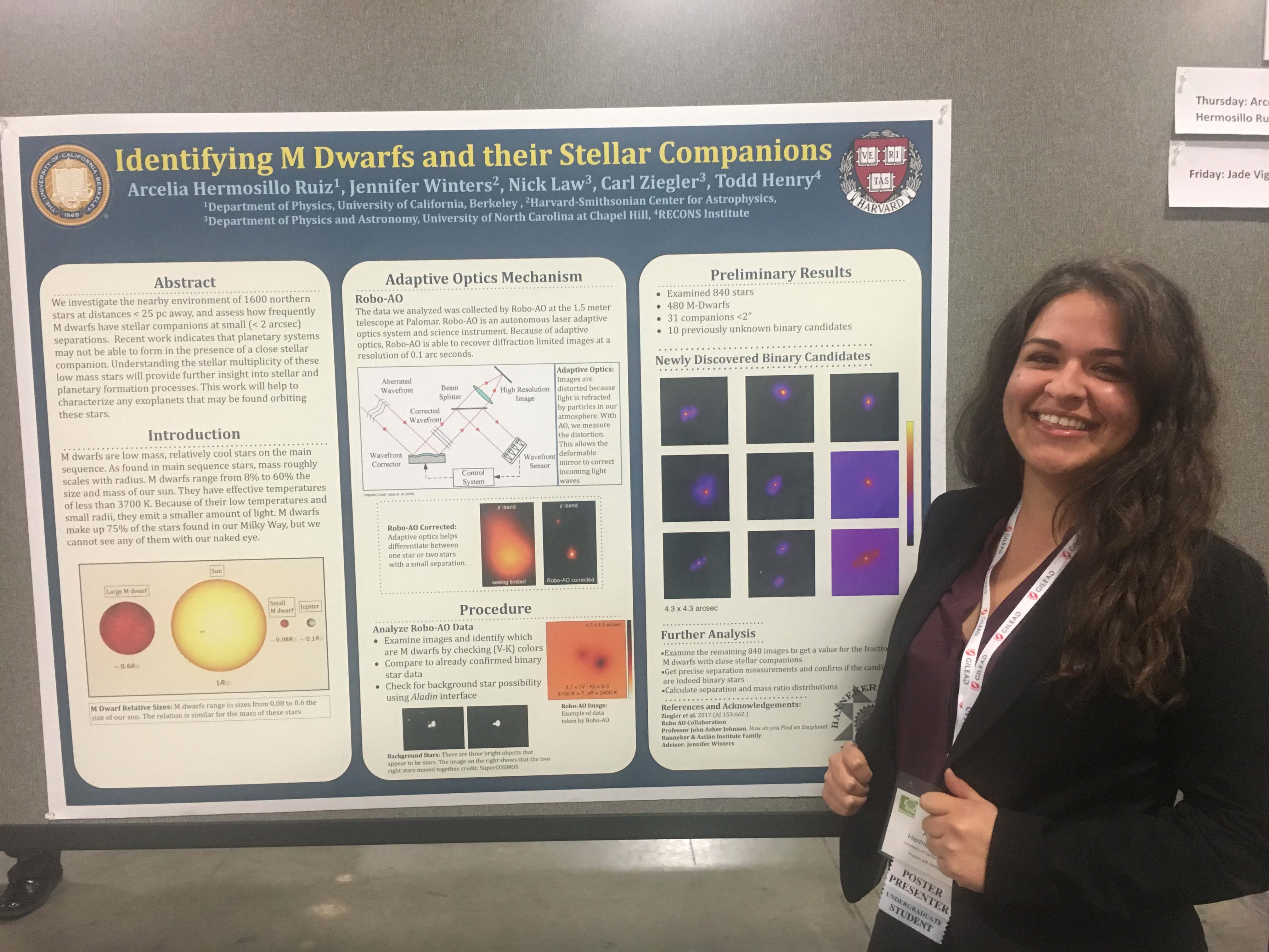 NERD Scholar Arcelia takes first place at SACNAS diversity STEM conference