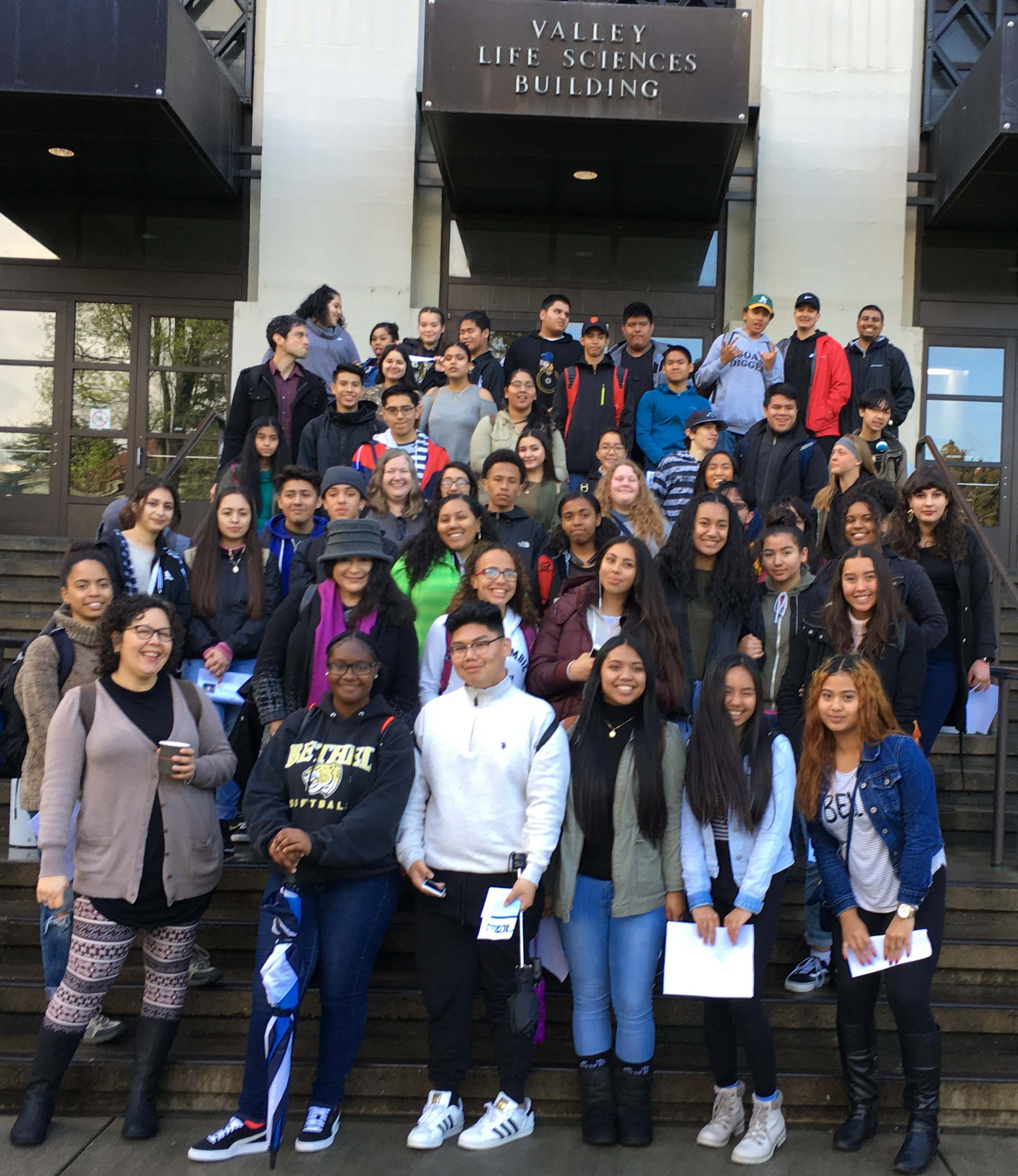 Jesse Bethel High School Visit (March 2017)