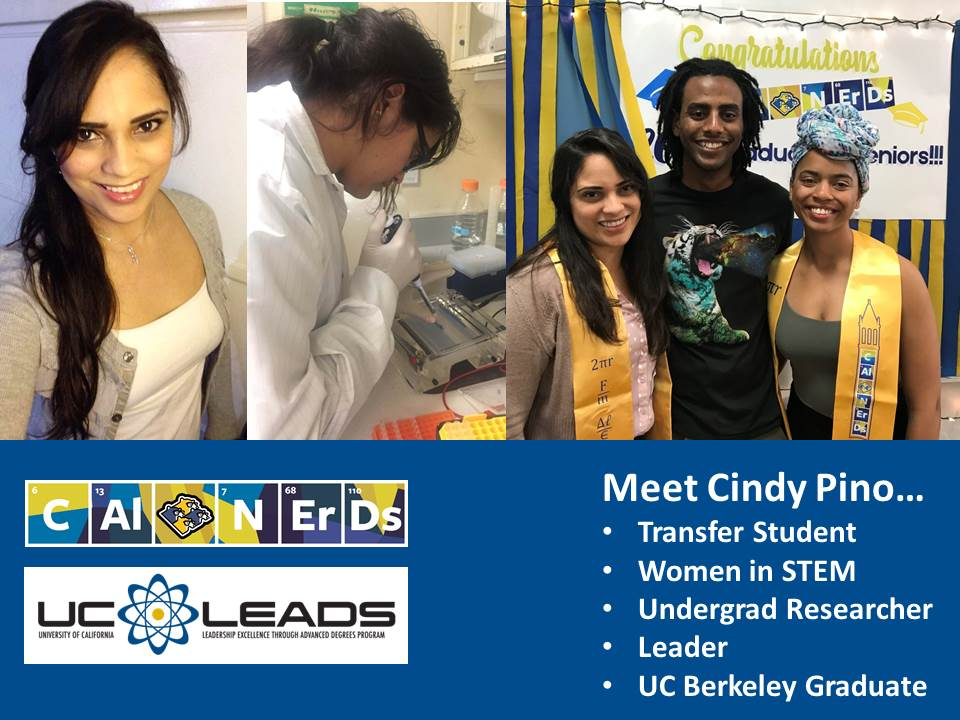 Hear Biology NERD Cindy's story via the podcast link