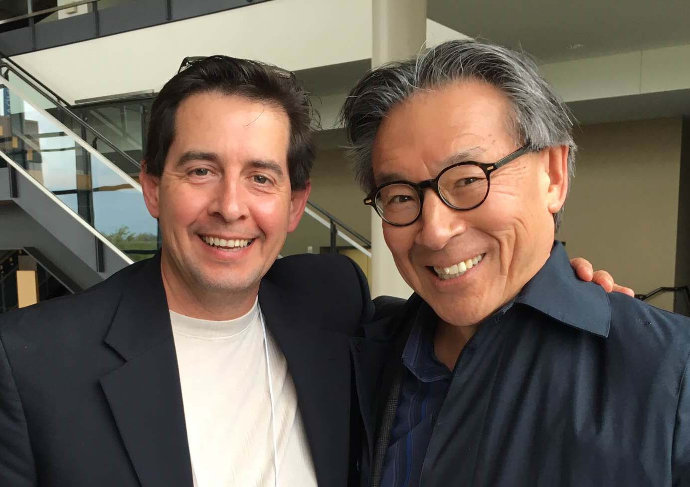 Dr. Ortiz and Dr. Matsui inspire students at 2016 Statewide Symposium