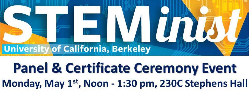 STEMinist Panel & Certificate Event